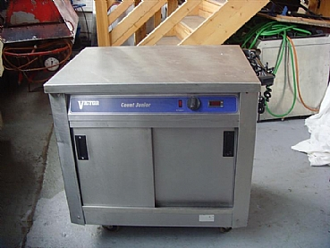 Plain Top Hot Cupboard (80 Plate)
